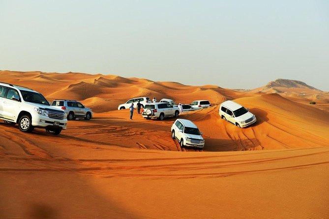 Doha : Half Day Shared Desert Safari || Camel Ride || Dune Bashing || Inland Sea