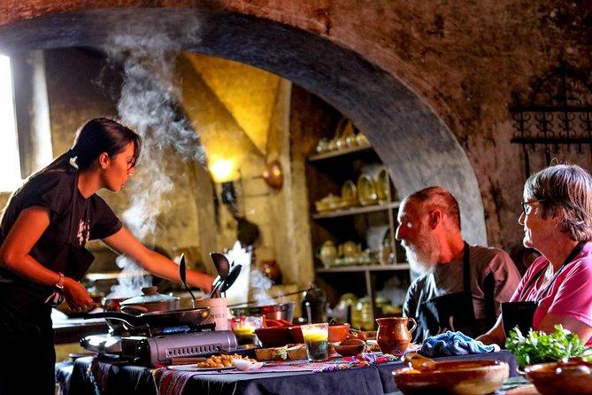 Clase de cocina en Antigua