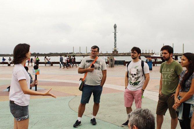 Passeio cultural a pé e de barco pelo Recife Antigo (Bairro do Recife)