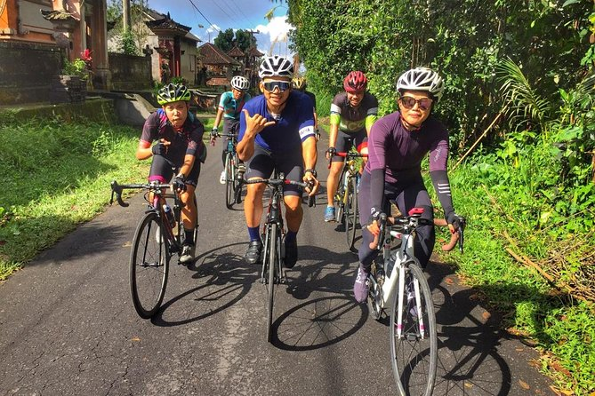 Bali triathlon cycling training
