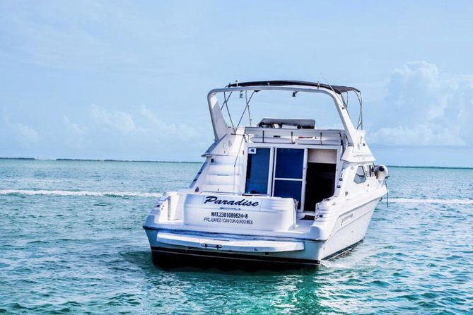 Cancun yachts rental YACHT 46 FT, 15 PAX MAX photo 3