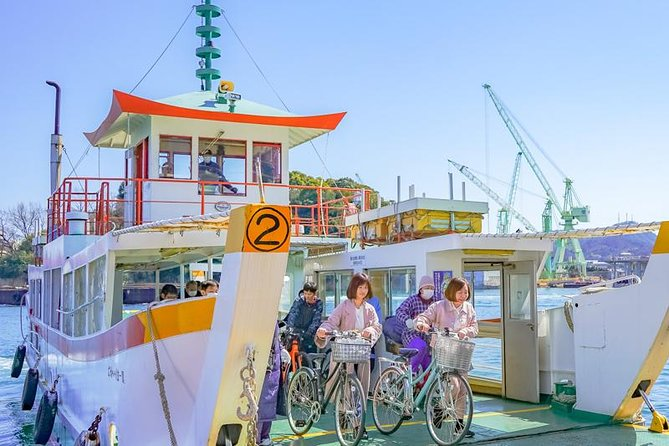 Private Tour - Beginners are welcome! Cycle across the sea to the islands!
