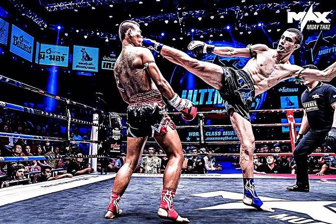 MAX Muay Thai in Pattaya Admission Ticket