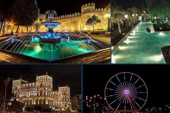 Old City and Baku Night tour (All inclusive)