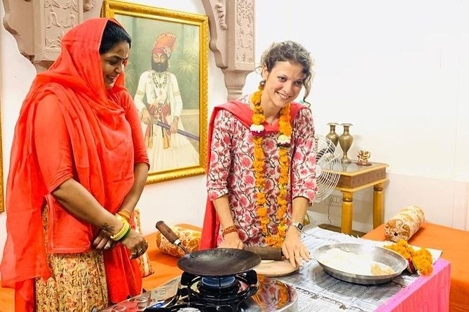Rajputi private cooking demonstration with part of Royal Family, Jodhpur. photo 7