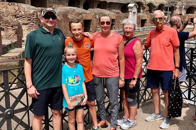 Skip-the-line Colosseum Tour With Kids including Roman Forum With a Family Guide