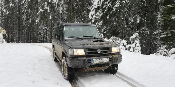 Full Day Winter Off-Road Tour in the Eastern Carpathians photo 10