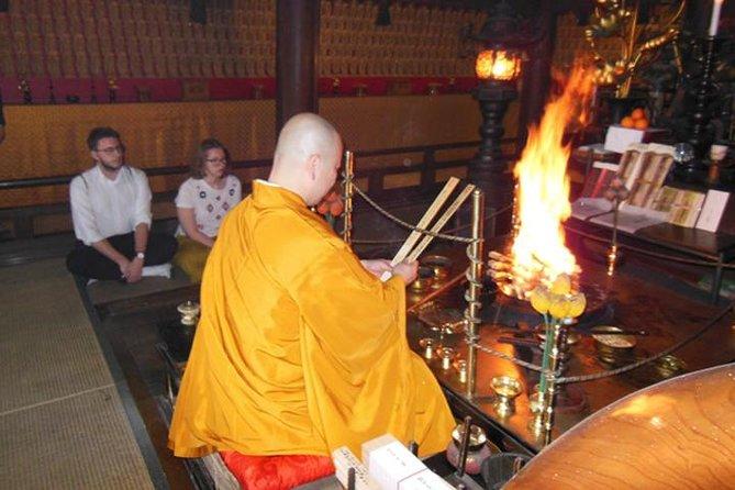Sutra Copying & Goma Experience At Miyajima Misen Daihonzan Daisho-in