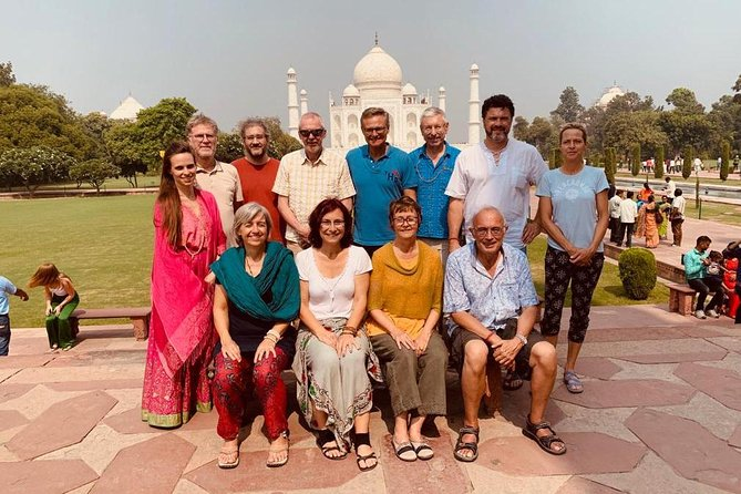 Private day trip to Taj Mahal, Agra