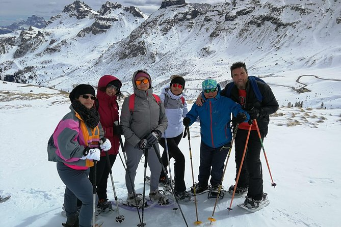 excursions with snowshoes in Val di Fassa