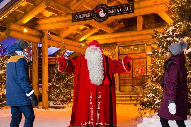 Santa Park + Santa Village Tour with private transport