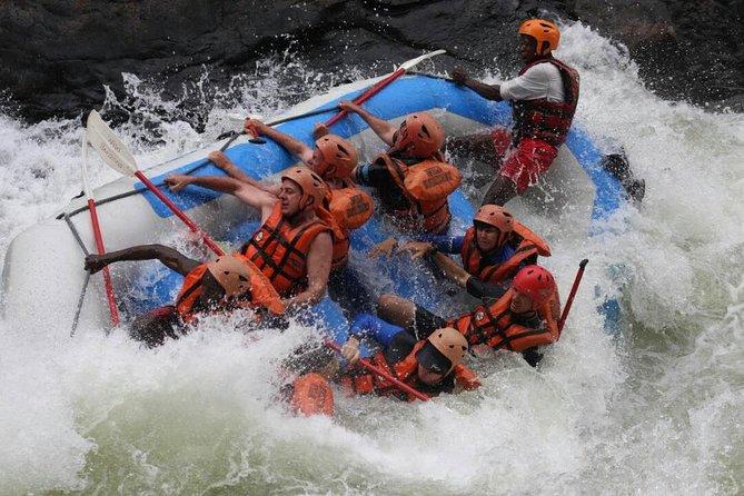 White Water Rafting - Victoria Falls