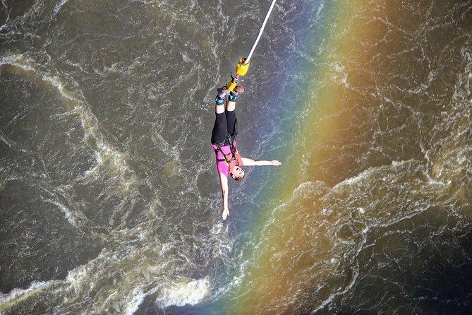 Bungee Jumping 111 Metres SOLO - Victoria Falls Bridge