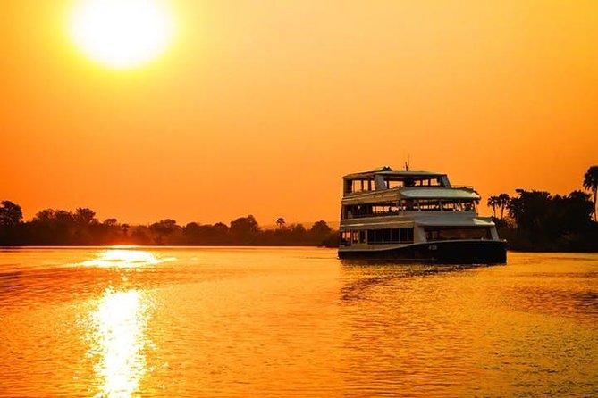 Luxury Sunset Cruise [Zambezi Explorer] - Victoria Falls.