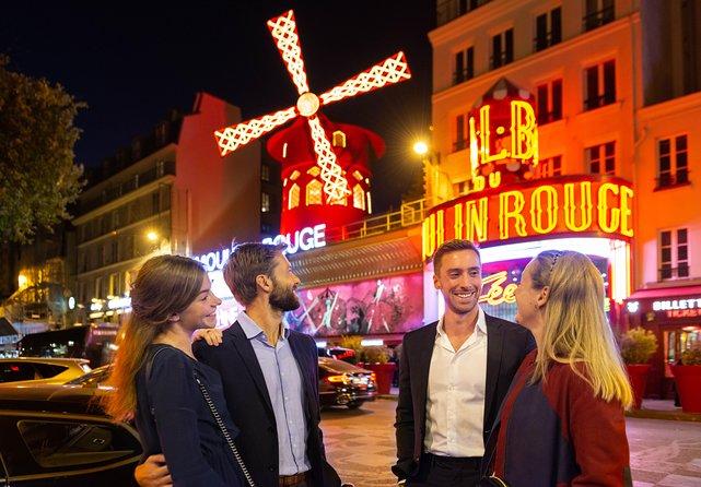 Paris by Night Illuminations Tour & Moulin Rouge Show