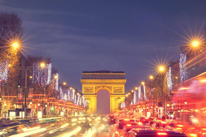 Paris by Night Illuminations Tour & Moulin Rouge Show