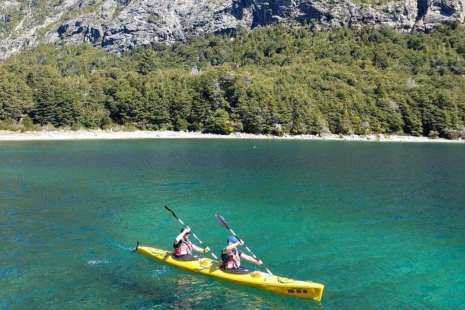 Private tour: full day kayak to Nahuel Huapi Lake