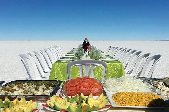 Uyuni Salt Flats Day Trip by Air from La Paz