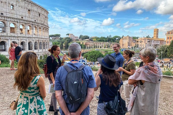 Walking Tour at The Colosseum and Forum with an Archaeologist