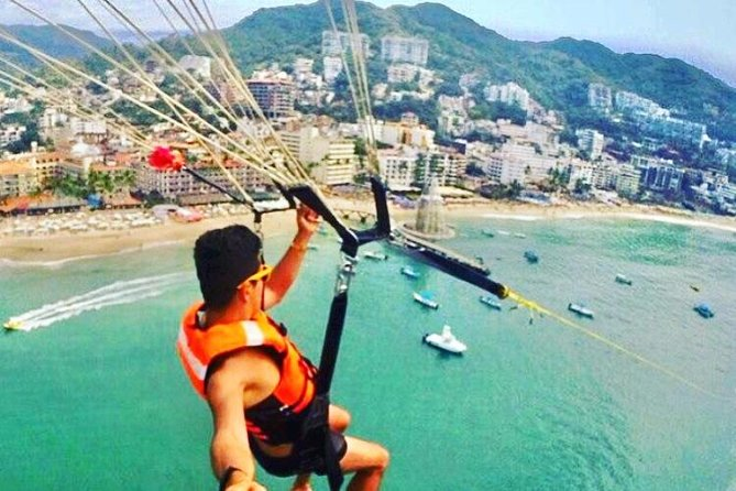 Parasailing Tour Puerto Vallarta - Experience PV From The Air!