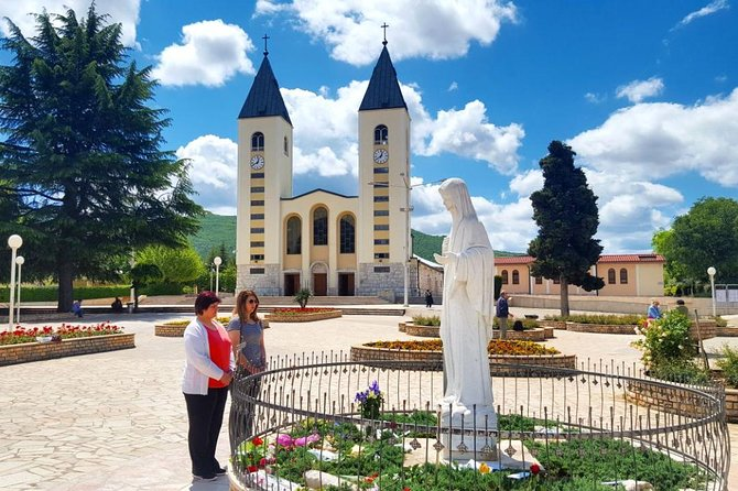 Medjugorje Pilgrimage site & Mostar Bridge from Split