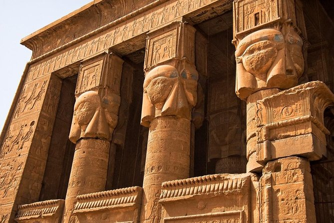 Private Tour to Dendara Temple & Sailing Nile Felucca & Banana island Luxor