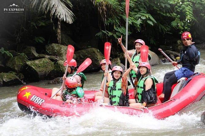 Bali Water Rafting Adventure & Jungle swing