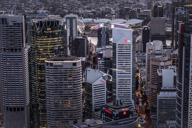 Brisbane City - Private Helicopter Sunset Flight - 25min