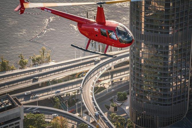 Private Helicopter Scenic Tour of Brisbane - 25min