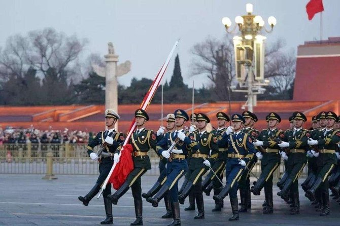 Private Beijing Night Walking Tour with Flag Lowering Ceremony at Tiananmen Square
