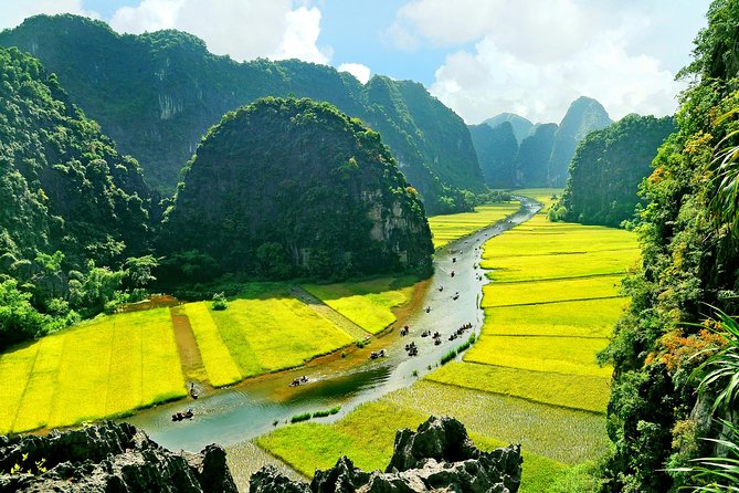 Hoa Lu - Tam Coc Bich Dong - Mua Cave - Biking and Boat 1 Day by Limousine bus