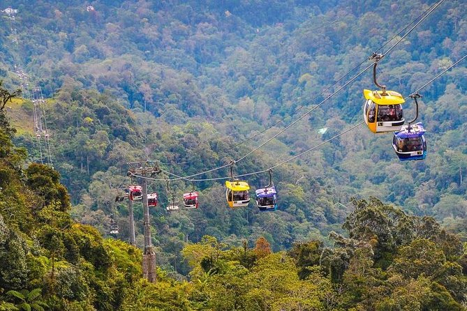 Genting Highland Day Trip En-route Batu Caves with Cable-Car Entrance (SIC)