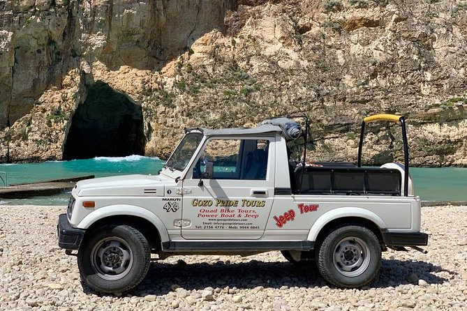 Gozo Full-Day Jeep Tour w/ Private Boat to Gozo & return (to avoid queuing)