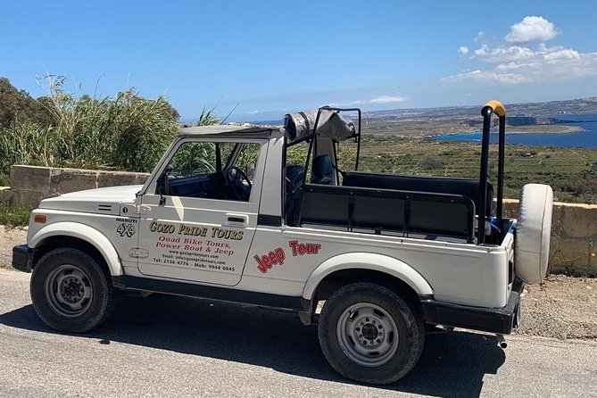 Private Jeep Tour in Gozo (Full Day)