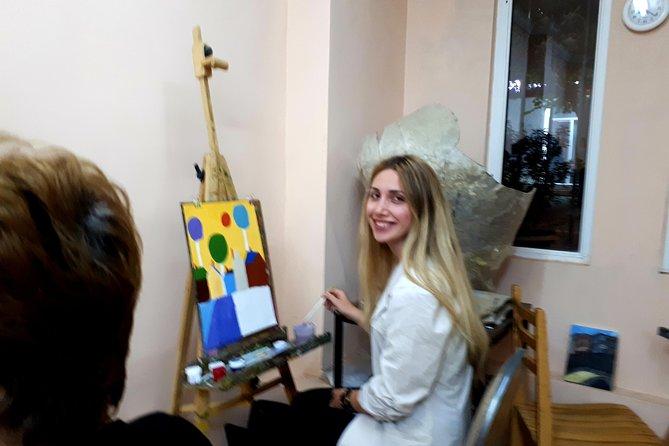 tour in art-studio in suburb of Tbilisi,you can take memories of georgia along