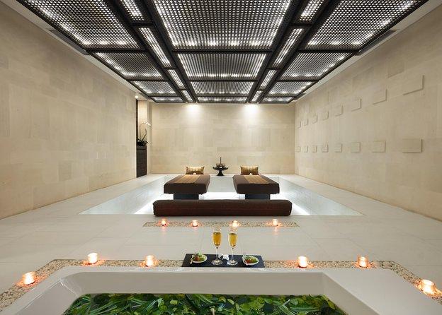 1 hr 45 mins ADVENTURE couples massage + polish + jacuzzi by eqUALIZE SPA