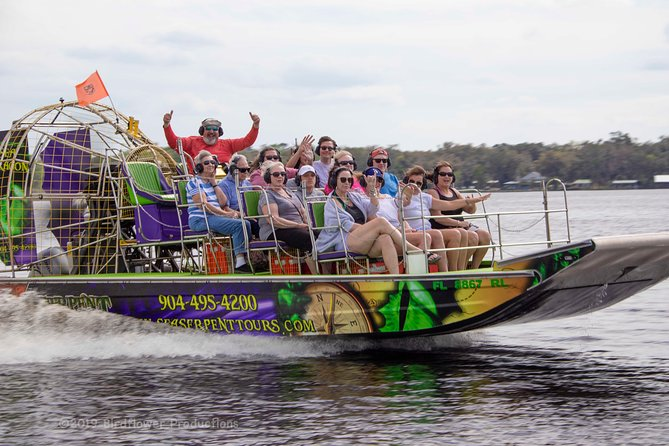 Sea Dragon Airboat Safari by Sea Serpent Tours