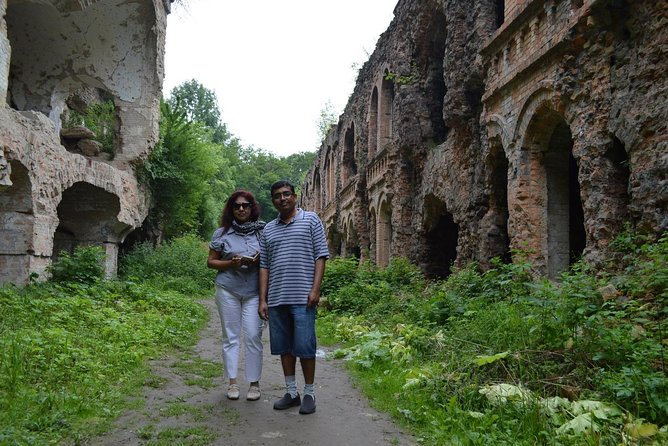 Tunnel of Love and Tarakaniv Fort from Kyiv Private Guided Tour