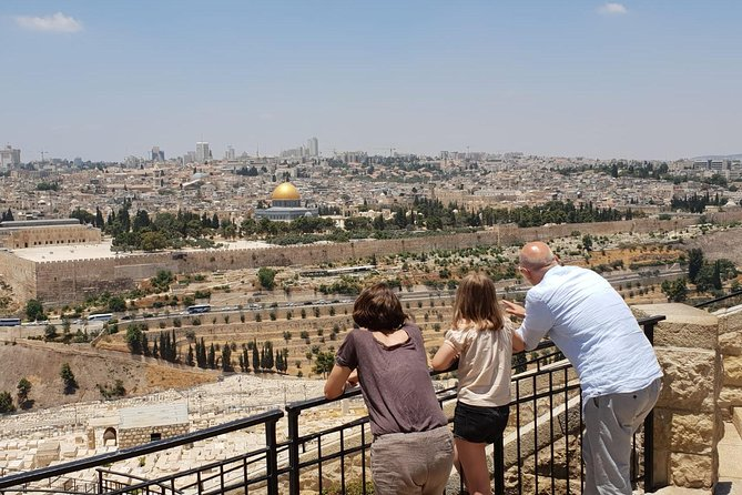Jerusalem Private Day Trip From Tel Aviv