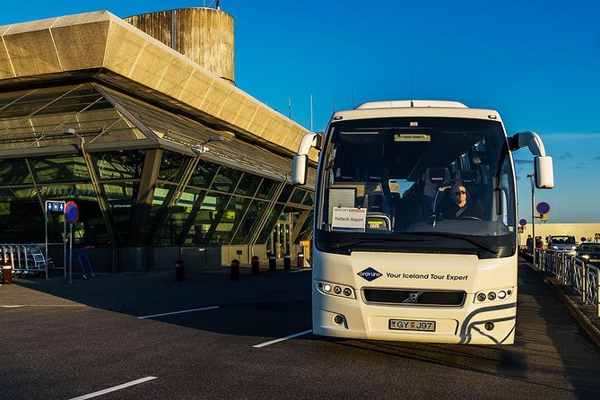 Airport Express Shared Arrival Transfer from Keflavik Airport to Reykjavik City
