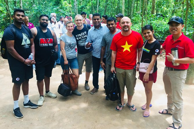 Top Tour CuChi Tunnels & Explore village with Cycling SMALL GROUP