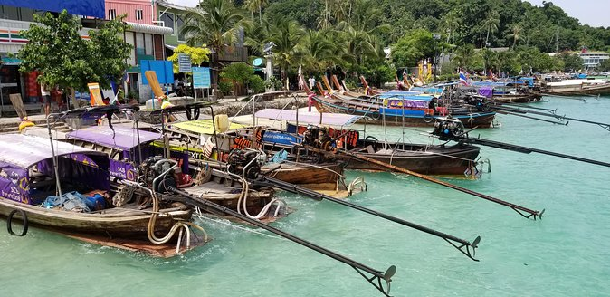 Amazing Day long cruise by BIG FERRY (SEA ANGEL) to PHI PHI Island Tour
