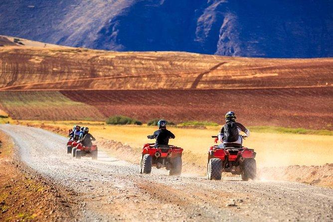 ATV Quadbikes Around Sacred Valley Tour Zip Line & Moray, Maras Salineras