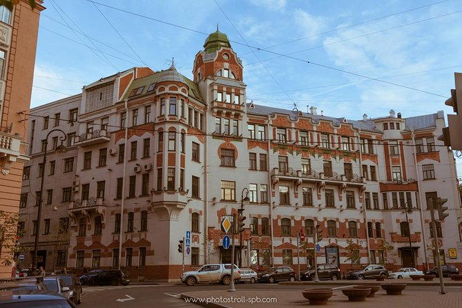 Petrogradsky district - 3 centuries of St.Petersburg