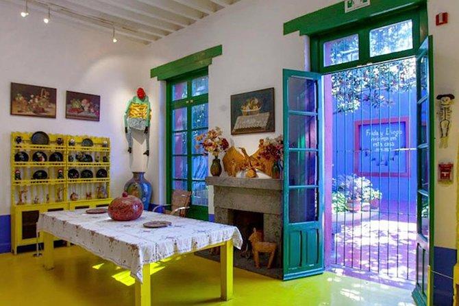 Tickets to Frida Kahlo & Diego Rivera Museum Skip The Line FREE CANCELATION