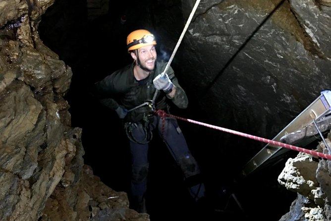5-Hour Extreme Cave & Rappel Tour