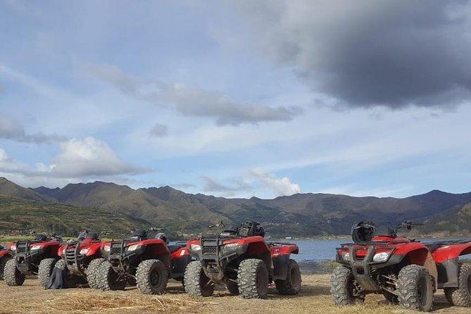 ATV Quadbikes Around Sacred Valley Tour Huaypo Lagoon & Piuray Lagoon