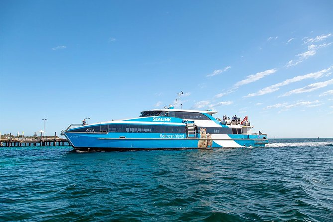 Perth to Rottnest Island Roundtrip Ferry Ticket