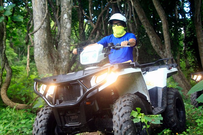 Combo ATV Tour (one bike for two adults) + Horseback Riding Tour (two horses)