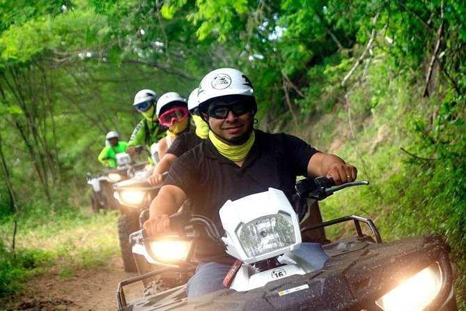 Combo - Jungle ATV Tour (one bike for two adults) + Hiking Tour for two photo 1